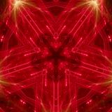 Ένα κόκκινο αστέρι ελεύθερη απεικόνιση δικαιώματος