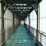 Το γυαλί δαπέδωσε το πέρασμα μέσω του Musee δ ` Orsay, Παρίσι, φράγκο στοκ εικόνες