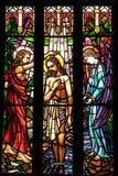 το γυαλί καθεδρικών ναών Peter s Άγιος το παράθυρο Στοκ Φωτογραφία