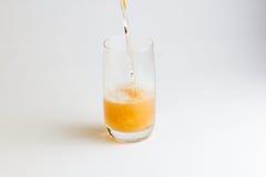 το γυαλί μπύρας ανασκόπησ&et Στοκ φωτογραφία με δικαίωμα ελεύθερης χρήσης