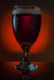 το γυαλί μπύρας απομόνωσε το λευκό Στοκ φωτογραφίες με δικαίωμα ελεύθερης χρήσης
