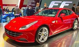 Το ΓΦ Ferrari Στοκ φωτογραφία με δικαίωμα ελεύθερης χρήσης