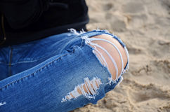 Το γόνατο στοκ εικόνα με δικαίωμα ελεύθερης χρήσης