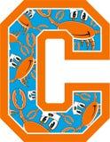 Το Γ είναι για το καβούρι Στοκ εικόνα με δικαίωμα ελεύθερης χρήσης