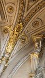 Το γλυπτό στο μουσείο LE louvre, Παρίσι, Γαλλία στοκ εικόνες