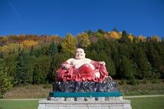 Το γλυπτό του Βούδα στο βιετναμέζικο μοναστήρι Στοκ φωτογραφία με δικαίωμα ελεύθερης χρήσης