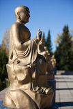 Το γλυπτό του Βούδα στο βιετναμέζικο μοναστήρι Στοκ φωτογραφίες με δικαίωμα ελεύθερης χρήσης