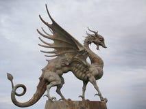 Το γλυπτό του δράκου Kazan Ταταρία Ρωσία Στοκ φωτογραφία με δικαίωμα ελεύθερης χρήσης