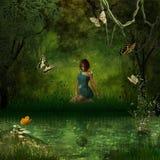 το δάσος απεικόνιση αποθεμάτων