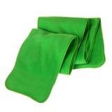 το δέρας δίπλωσε το πράσινο μαντίλι στοκ φωτογραφίες με δικαίωμα ελεύθερης χρήσης