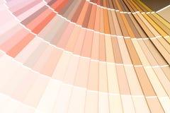 το δείγμα χρωματίζει το pantone καταλόγων στοκ φωτογραφία με δικαίωμα ελεύθερης χρήσης