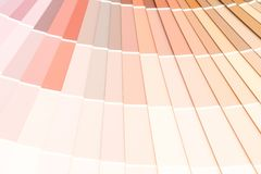 το δείγμα χρωματίζει το pantone καταλόγων στοκ φωτογραφίες