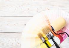 το δείγμα χρωματίζει swatches pantone ή χρώματος καταλόγων το βιβλίο στοκ εικόνες με δικαίωμα ελεύθερης χρήσης