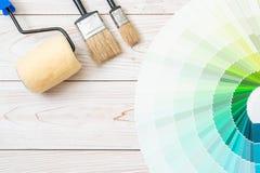 το δείγμα χρωματίζει swatches pantone ή χρώματος καταλόγων το βιβλίο στοκ φωτογραφία με δικαίωμα ελεύθερης χρήσης