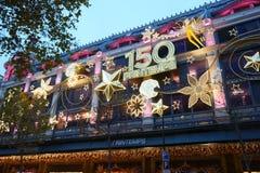 Το Δεκέμβριο του 2015 του Παρισιού Printemps Στοκ φωτογραφία με δικαίωμα ελεύθερης χρήσης