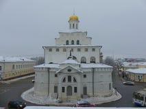Το Δεκέμβριο του 2017 του χειμερινού χρυσό Γκέιτς Βλαντιμίρ Ρωσία Στοκ Φωτογραφίες