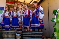 Το δεύτερο εθνικό φεστιβάλ Bobovischenske Grono έγινε σε Zaka στοκ φωτογραφία με δικαίωμα ελεύθερης χρήσης
