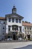 Το Δημαρχείο στο Λουμπλιάνα στοκ φωτογραφία με δικαίωμα ελεύθερης χρήσης