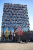 Το Δημαρχείο της πόλης του γκούντα, που ονομάζεται stroopwafel, μετά από το τυρί δεύτερος ο διάσημος του γκούντα στοκ εικόνες