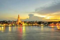 Το διάσημο Wat Arun, σε Bamgkok στην Ταϊλάνδη στοκ εικόνες με δικαίωμα ελεύθερης χρήσης