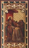 Το διάταγμα του ST Ladislaus δίνει τον πρώτο επίσκοπο του Ζάγκρεμπ στοκ εικόνες