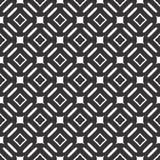 Το διανυσματικό μαύρο λευκό επαναλαμβάνει τα σχέδια στοκ φωτογραφία με δικαίωμα ελεύθερης χρήσης
