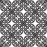 Το διανυσματικό μαύρο λευκό επαναλαμβάνει τα σχέδια Στοκ φωτογραφίες με δικαίωμα ελεύθερης χρήσης