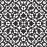 Το διανυσματικό μαύρο λευκό επαναλαμβάνει τα σχέδια στοκ φωτογραφίες