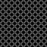 Το διανυσματικό μαύρο λευκό επαναλαμβάνει τα σχέδια Στοκ εικόνες με δικαίωμα ελεύθερης χρήσης