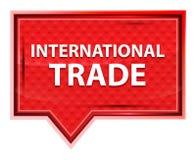 Το διεθνές εμπόριο misty αυξήθηκε ρόδινο κουμπί εμβλημάτων ελεύθερη απεικόνιση δικαιώματος