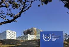 Το διεθνές Ποινικό Δικαστήριο Στοκ Φωτογραφία