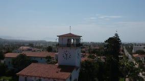 Το δικαστήριο 2 Santa Barbara απόθεμα βίντεο