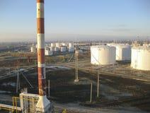 Το διυλιστήριο πετρελαίου Στοκ φωτογραφία με δικαίωμα ελεύθερης χρήσης