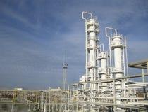 Το διυλιστήριο πετρελαίου Στοκ εικόνα με δικαίωμα ελεύθερης χρήσης