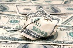 το δολάριο τραπεζογραμ& στοκ φωτογραφία με δικαίωμα ελεύθερης χρήσης
