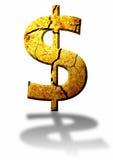 το δολάριο Στοκ φωτογραφία με δικαίωμα ελεύθερης χρήσης