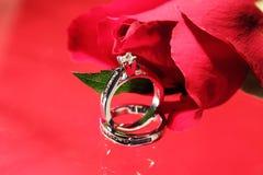 το δώρο καρτών με παντρεύε&iot Στοκ Εικόνες
