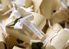 το δώρο κιβωτίων σας ευχαριστεί Στοκ φωτογραφία με δικαίωμα ελεύθερης χρήσης