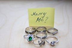 Το δώρο με παντρεύει Στοκ Εικόνα