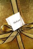 το δώρο σας ευχαριστεί Στοκ Εικόνες