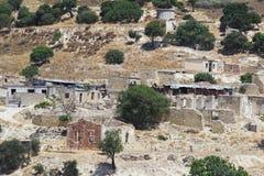 Το εγκαταλειμμένο χωριό Souskiou στην περιοχή της Πάφος, Κύπρος στοκ εικόνες με δικαίωμα ελεύθερης χρήσης