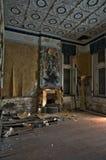 Το εγκαταλειμμένο δωμάτιο μεγάρων στοκ εικόνα