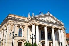 Το εθνικό θέατρο σε Oradea στοκ εικόνες
