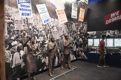 Το εθνικό μουσείο πολιτικών δικαιωμάτων στη Μέμφιδα Τένεσι Στοκ εικόνα με δικαίωμα ελεύθερης χρήσης