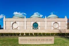 Το Εθνικό Μουσείο της αφρικανικής τέχνης είναι ένα αφρικανικό Μουσείο Τέχνης που βρίσκεται στην Ουάσιγκτον, το ΣΥΝΕΧΈΣ ΡΕΎΜΑ, και Στοκ Εικόνα