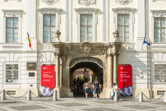 Το Εθνικό Μουσείο Brukenthal Στοκ φωτογραφίες με δικαίωμα ελεύθερης χρήσης