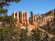 Το εθνικό πάρκο Γιούτα, Ηνωμένες Πολιτείες φαραγγιών του Bryce στοκ φωτογραφία