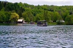 Λίμνες Plitvice, Κροατία Ευρώπη Στοκ Φωτογραφία
