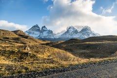 Το εθνικό πάρκο Torres del Paine, Παταγωνία, Χιλή Στοκ Φωτογραφίες