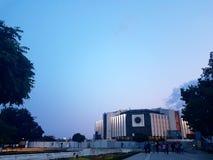 Το εθνικό παλάτι του πολιτισμού Sofia Στοκ Εικόνα